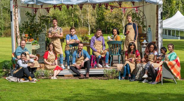 This year's Great British Bake Off hopefuls (C4/Love Productions/Mark Bourdillon)