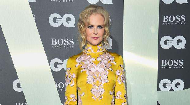 Nicole Kidman also spoke about how her relationship with her husband works (Matt Crossick/PA)