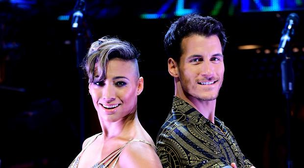 Karen Hauer and Gorka Marquez are going on tour (Ian West/PA)