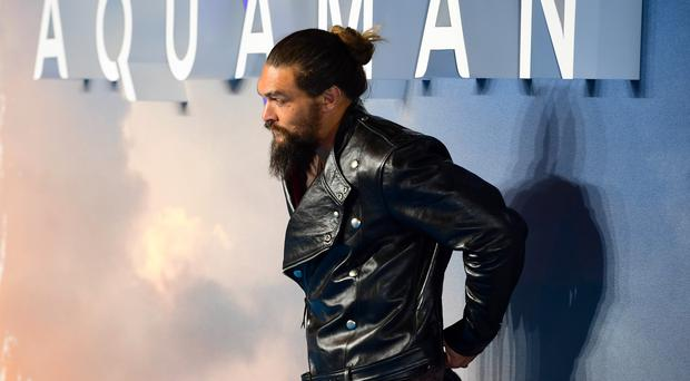 Jason Momoa stars in See (Ian West/PA)