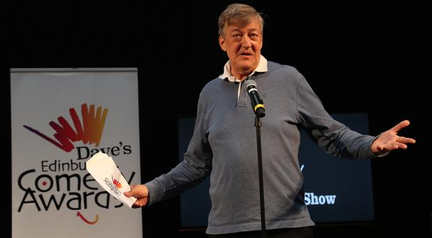 Stephen Fry (Andrew Milligan/PA)