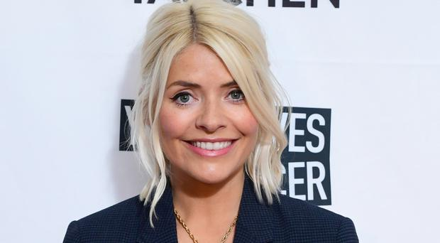 Holly Willoughby attending the Clic Sargent A Very British Affair auction at Claridge's (Ian West/PA)