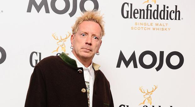 Johnny Rotten, real name John Lydon, formerly of the Sex Pistols (Ian West/PA)