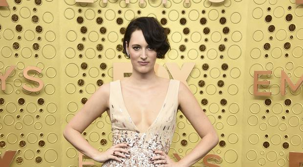 Phoebe Waller-Bridge thanked her 'Fleabag family' as she won an Emmy for the critically acclaimed comedy (Jordan Strauss/Invision/AP)