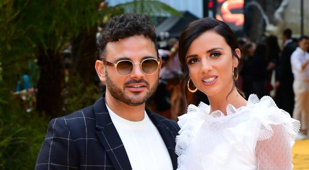 Lucy Mecklenburgh and Ryan Thomas (Ian West/PA)