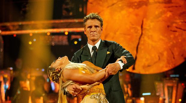 Luba Mushtuk and James Cracknell (Guy Levy/BBC)