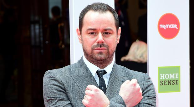 Danny Dyer admits being reprimanded by his children for swearing at home (Ian West/PA)