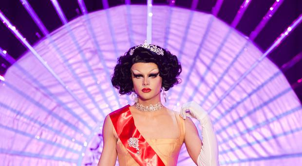 Gothy Kendoll was first to be booted off RuPaul's Drag Race UK (BBC/Guy Levy/PA)