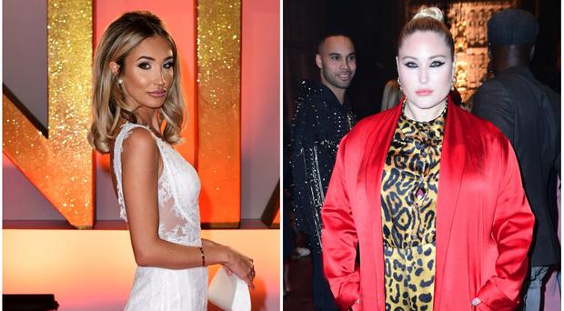 Megan McKenna and Hayley Hasselhoff will take part in the new X Factor series (PA)