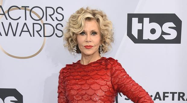 The actress Jane Fonda has been arrested after taking part in climate change protests in Washington DC (Jordan Strauss/Invision/AP)