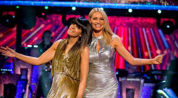 Strictly hosts Tess Daly and Claudia Winkleman (Guy Levy/BBC)