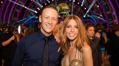 Kevin Clifton and Stacey Dooley (BBC/Guy Levy)