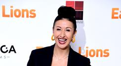 Hayley Tamaddon, 42, welcomes 'perfect' first child (Ian West/PA)