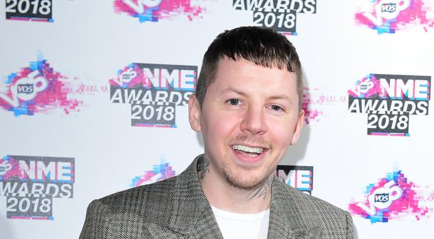 Professor Green (Ian West/PA)