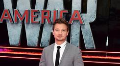 Marvel actor Jeremy Renner allegedly threatened to kill himself and his ex-wife, according to a lawsuit (Ian West/PA Wire)