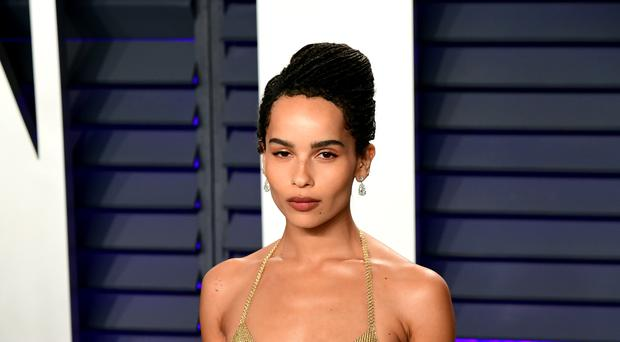 Zoe Kravitz appears to have confirmed her casting as Catwoman in an upcoming Batman film (Ian West/PA)
