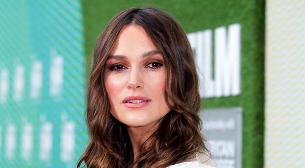 Keira Knightley attending the Official Secrets European premiere at the Embankment Garden Cinema, London (David Parry/PA)