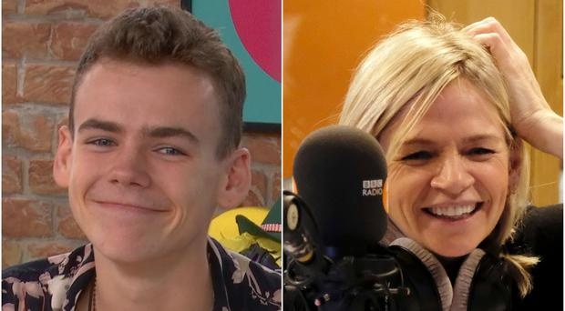 Zoe Ball spoke about her son Woody being in the final of The Circle (Channel 4/BBC)