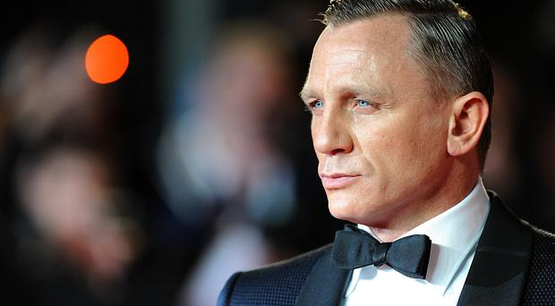 Daniel Craig pictured at the premiere of Skyfall in 2012 (Dominic Lipinski/PA)