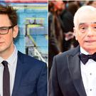 Martin Scorsese, right, recently compared superhero films such as those by director James Gunn to 'theme parks' (Ian West/PA)