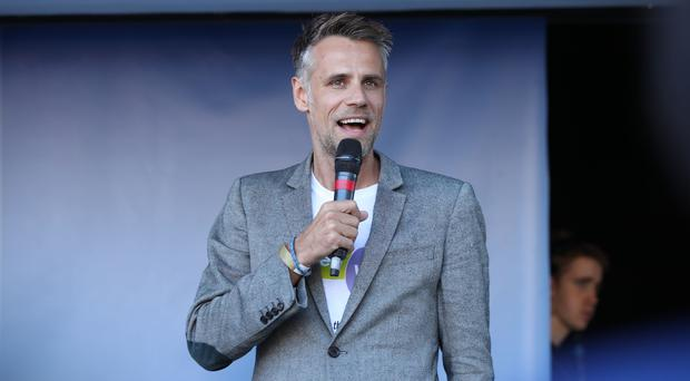 Richard Bacon was talking to BBC Radio 5 Live's Hooked podcast (Yui Mok/PA)