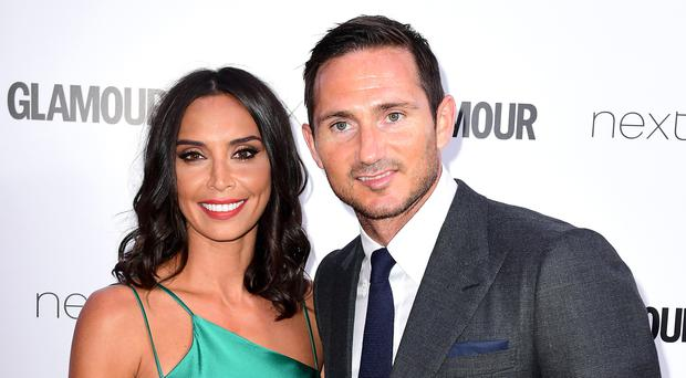 Christine Lampard said Frank had 'thrown himself' into fatherhood for a third time (Ian West/PA)