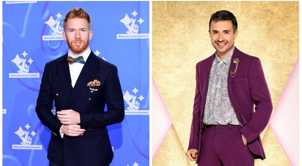 Will Bayley and Neil Jones (BBC/PA)