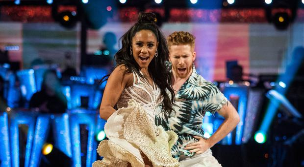 Strictly's Alex Scott and Neil Jones open up about their relationship (Guy Levy/BBC)