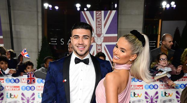Tommy Fury and Molly-Mae Hague (Ian West/PA)