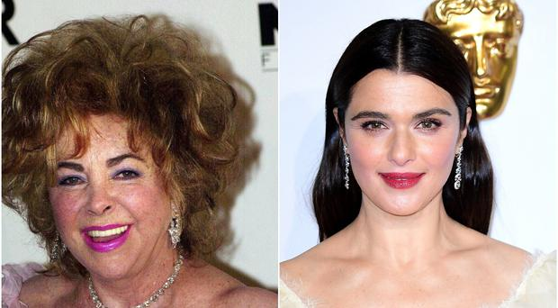 Elizabeth Weisz is reportedly set to play Dame Elizabeth Taylor in an upcoming biopic (PA)