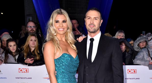 Christine McGuinness and Paddy McGuinness (Matt Crossick/PA)