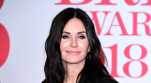 Courteney Cox (Ian West/PA)