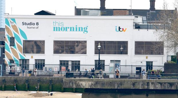The ITV Studio 8, home of the This Morning show on the South Bank in central London. (Nick Ansell/PA)