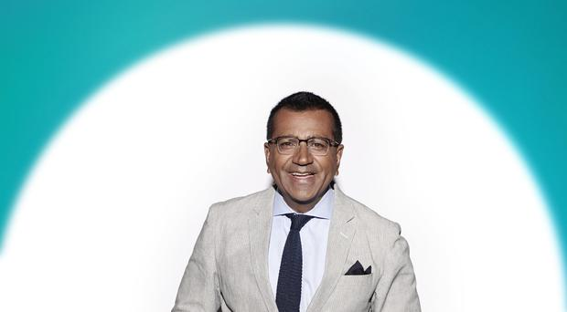 Martin Bashir in the new ITV series of The X Factor: Celebrity (Syco/Thames TV)