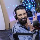 Rylan Clark-Neal during his 24-hour Karaoke Challenge for BBC Children In Need (Sarah Jeynes/BBC/PA)