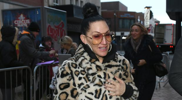 Michelle Visage arrives at Blackpool Tower Ballroom ahead of Saturday's Strictly Come Dancing show (Dave Nelson/PA)