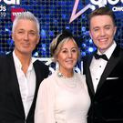 Martin and Shirlie Kemp with son Roman (Scott Garfitt/PA)