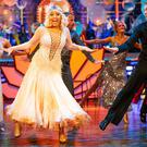 Saffron Barker and AJ Pritchard on Strictly Come Dancing (Guy Levy/PA)