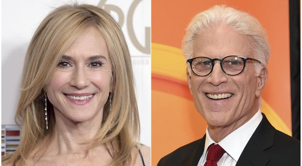 Holly Hunter will star alongside Ted Danson (AP Photo)