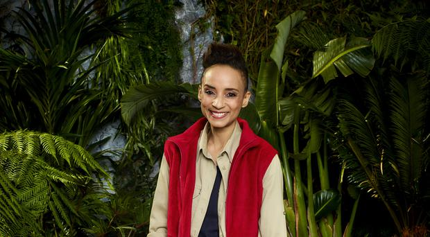 Adele Roberts faced a bushtucker trial with Roman Kemp (ITV)
