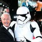Anthony Daniels at the European premiere of Star Wars: The Last Jedi (Ian West/PA)
