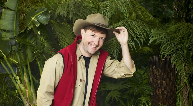 Andrew Maxwell on I'm A Celebrity… Get Me Out Of Here! 2019 (ITV)