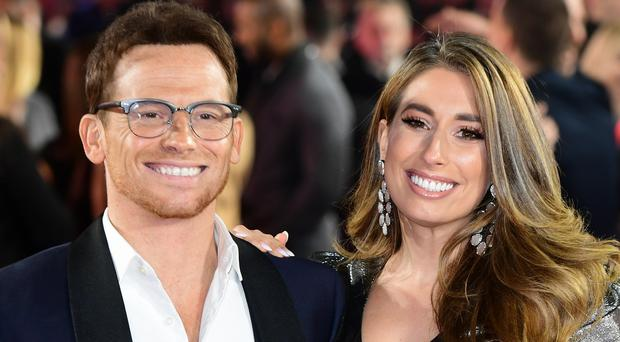 Joe Swash and Stacey Solomon (Ian West/PA)