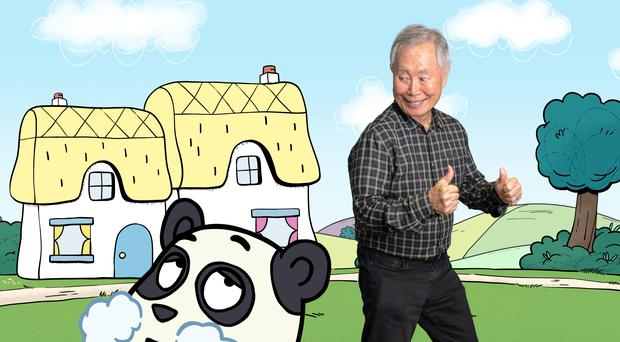 George Takei in Love Monster (BBC Children's, Boat Rocker/Uyoung/PA)