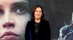 American film producer Kathleen Kennedy is to be presented with the Bafta Fellowship award next February (Ian West/PA)