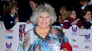 Miriam Margolyes has been apart from her long-term partner (Ian West/PA)