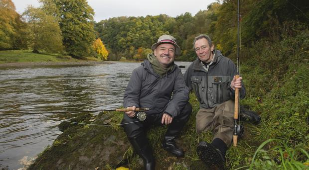 Something fishy! Bob Mortimer and Paul Whitehouse are back (Neil Hanna/BBC)