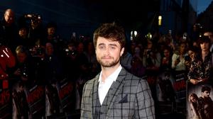 Daniel Radcliffe attends the UK premiere of Horns at the Odeon West End, central London.