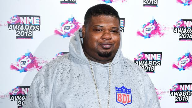Big Narstie will co-host the show with stand-up comedian Mo Gilligan (Ian West/PA)