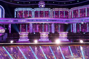 The set for the new series of Strictly Come Dancing (BBC/PA)
